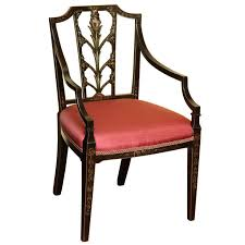 Desk Chair For Sale Antique Sheraton Painted Desk Chair English Circa 1795 For Sale