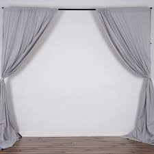 Balloon Drapery Panel 10ft Polyester Curtain Backdrop Drape Panel Premium Collection