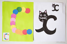 printable letter c crafts c is for cat fun with mama