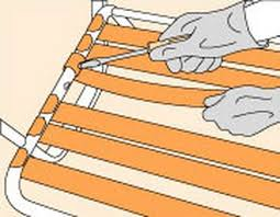 Rubber Upholstery Webbing How To Repair Chair Straps And Webbing Hunker