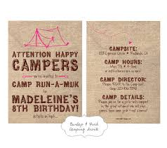 Camping In Backyard Ideas Backyard Camping Birthday Party Tips From Town