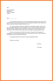 resignation letter due to relocation template 5 free word
