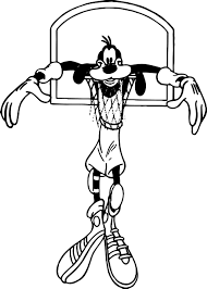 goofy coloring pages coloringsuite com