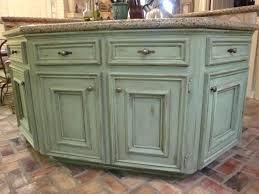 green kitchen island awesome green kitchen island distressed green kitchen cabinets