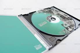 cd cover mockup by carlosviloria graphicriver