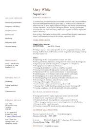 Housekeeping Supervisor Resume Sample by Supervisor Cv Sample
