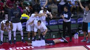 great plays are greater with monmouth bench celebrations youtube