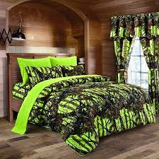 camo bedroom set spring cleaning sale lime camouflage queen size 8pc comforter