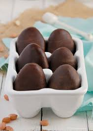 chocolate covered eggs healthy chocolate dipped peanut butter eggs vegan the