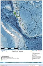 Vanuatu Map Vanuatu