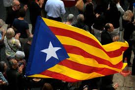 Barcelona Spain Flag The Latest Spain Requests Warrant For Catalan Leader Kutv