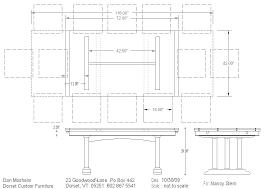 standard dining table size shopscn com