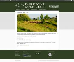 Eagle Point Oregon Map by Eagle Point Golf Course Web Design Website Design Ad Agency