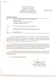 Certification Letter Sle For Embassy Issuances Deped Antipolo