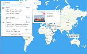 track and trace online container tracking system