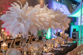 great gatsby centerpieces glamorous great gatsby wedding inspiration the magazine