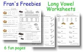 long vowel worksheets free free worksheets library download and