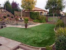 City Backyard Ideas Grass Turf Bushnell Florida City Landscape Small Backyard Ideas