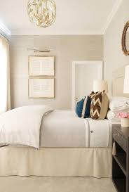 Mirrors Above Nightstands Gray And Blue Bedrooms Transitional Bedroom Victoria Hagan