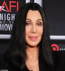 hair for straight hair a big nose demi moore 50 and cher 66 sport identical unlined foreheads at
