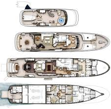 yacht palladium layout 127 floor plans yachts houseboat plans wooden house boat floor