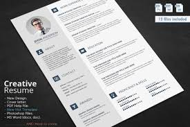 Unique Resume Templates Free Word Creative Resume Templates Free Word Free Resume Example And