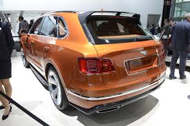 2017 bentley bentayga price bentley bentayga u0027s first year of production is already spoken for