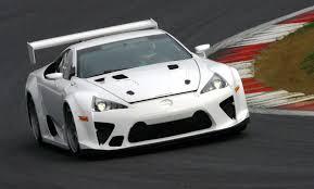 lexus racing car lexus lfa to race in nurburgring 24h race spawning nurburging