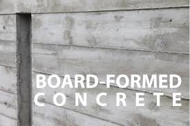 How To Make Homemade Concrete by Board Formed Architectural Concrete Walls How To Youtube