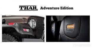 thar jeep interior mahindra u0026 mahindra brings out its adventure variant thar autogyaan