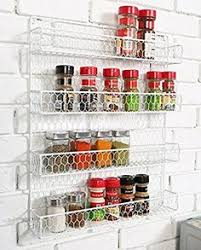 wall mounted spice rack cabinet kitchen storage organizer spice rack cabinet door wall mount shelf 4