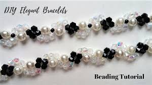 diy crystal bead bracelet images Diy crystal and pearls bracelets how to make beading bracelets jpg