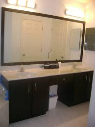bathroom cabinets black framed mirror for bathroom mirror frames