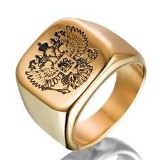 aliexpress buy nyuk new arrival men ring gold online get cheap gold eagle jewelry aliexpress alibaba