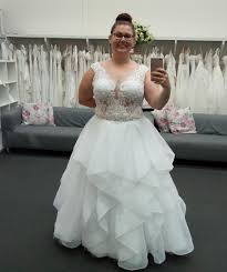 custom wedding dress plus size bridal gowns custom made to order for curvy brides by