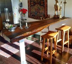 Reclaimed Wood Bar Table Wooden Bar Tables Reclaimed Wood Slab Bar Top Contemporary Indoor