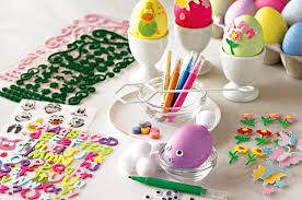 Easter Eggs Decoration Kit by Easter Decorating Kits From Eggs To Cupcakes At Home With Kim Vallee