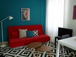 cuisine noir et rouge cuisine mur bleu canard cenefa flor dreams azul x cm fr cfm