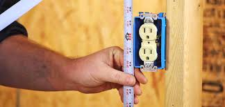 wall mounted height measure what is the required minimum height aff of a electrical wall