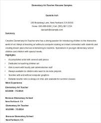 art and craft teacher resume samples sorozatmania com