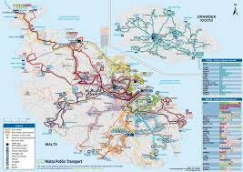 Smart Bus Route Map by Malta By Public Transport A Complete Guide