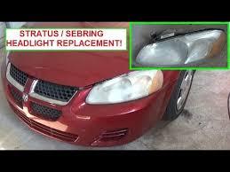 2005 dodge stratus brake light bulb dodge stratus chrysler sebring head light replacement headlight