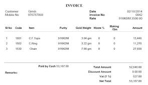 jewelry invoice template 28 images best photos of jewelry