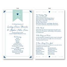 Weddingprograms Unique Wedding Programs Stylish Wedding Programs Ideas