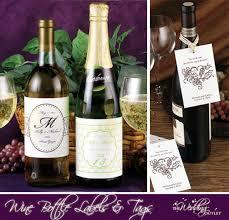 wine bottle wedding favors wine bottle with monogram for favors wedding ideas