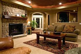 wet bar pool table fireplace finished basement ideas aurora