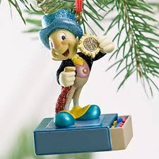 disney jiminy cricket christmas tree ornament ebay