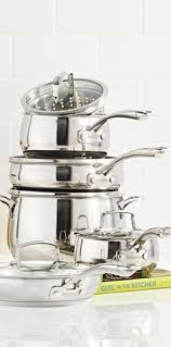 Stainless Steel Kitchen Set by Best Stainless Steel Cookware U0026 Pots And Pan Sets Williams