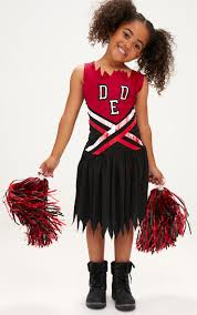 zombie cheerleader halloween costume plt prettylittlething