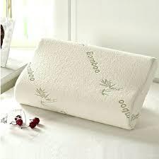 Bamboo Pillow Hotel Comfort Memory Foam Pregnancy Body Pillow Uk Procomf Knee Memory Foam